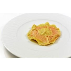 Raviole de langoustine